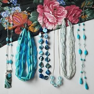 Jewelry - Blue Necklaces